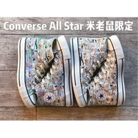 Wholesale mice shoes resale online - 2020 Limited Converse All Star Mickey Mouse Tokyo Osaka Luxury Limited Sneakers men women size