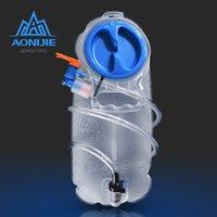 frei laufenden rucksack großhandel-AONIJIE SD17 1.5L 2.5L Weiche Reservoir Wasser Blase Trinkrucksack Wasseraufbewahrungstasche BPA Free Running Hydration Weste Rucksack