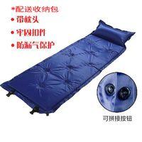 ingrosso tappetini per pannelli-Nove-Mounted / dui zhe shi-Panel automatico materasso gonfiabile Mat Camping prova d'umidità pieghevole Pad
