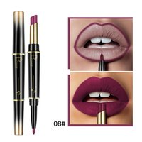Wholesale dark purple lipstick makeup for sale - Group buy Pudaier Colors Long lasting Lip Liner Matte Lip Pencil Waterproof Moisturizing Lipsticks Makeup Contour Cosmetics P1237