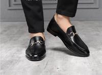 ayakkabı oyulmuş topuklu ayakkabı toptan satış-Marka erkekler inek deri bağlama elbise ayakkabı Bağbozumu Oyma Barok resmi Takım ayakkabı Iş Ofis Ayakkabı Düşük Topuk kayma-Düğün Oxfords H47