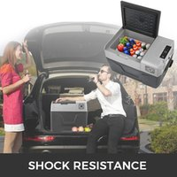 compresseur de refroidissement achat en gros de-CAR HOME USE 30L Compressor Portable Petit Réfrigérateur Réfrigérateur Congélateur Maison Et Réfrigérateur De Véhicule