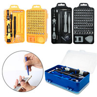 Wholesale precise watches resale online - 115 In Screwdriver Precise Set Mini Electric Multi Phone Tablets Computer Laptop PC Watch Device Repair Hand Home Tools