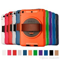 Wholesale shockproof waterproof tablet pc resale online - Tablet PC Cases in Defender waterproof shockproof Robot Case military Heavy Duty TPU PC cases cover for ipad mini