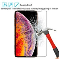 Wholesale 2 D H Tempered Glass film for iPhone pro max xr Samsung Note10 S10 plus Screen Protector D H Film