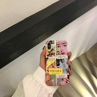 Wholesale cell phone cases online – custom 1PCS designer Painting Frosted Crashproof PC Hard Back Cover Cell Phone Case Protective Covers For iPhone X XS S PLUS
