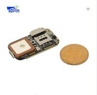 grabadoras telefónicas al por mayor-GPS GSM Wifi LBS localizador Módulo PCBA ZX303 Mini GPS Tracker con SOS Alarma Web en tiempo real Seguimiento de la tarjeta TF Grabadora de voz