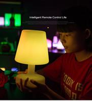 ingrosso luce decorativa coreana-Nuova illuminazione in stile europeo coreano nuovo ristorante esotico studio camera da letto lampada da tavolo lampade ombrello all'aperto decorazione della barra lampada da tavolo scena