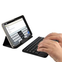 Wholesale lenovo tablet resale online - Bluetooth Keyboard For Lenovo Tab48plus Tab4 plus Tab Plus Tablet Wireless keyboard Android Windows Touch Pad inch Case