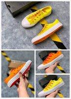 ingrosso scarpe di neon glow-2019 scarpe di tela unisex Glow Up da donna Scarpe casual da uomo Chuck Scarpe da ginnastica sportive color neon da donna Sneakers casual allacciate 36-44