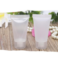 Wholesale clear plastic bottles for sale for sale - Group buy 30ml Clear Cosmetic Refillable Soft Tube for Cleaner BB Cream Shampoo Mini Travek Size Bottle for Sale