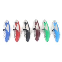 Wholesale kitchen supply bottle opener for sale - Group buy Kitchen Supplies Stainless Steel Bottle Opener Hippocampus Knife Wine High Grade Cocktail Red Wine Openers Household Hotel Gifts gy k1