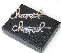 clips para senhoras venda por atacado-Marca de moda popular Alta versão grampo De Cabelo para lady Design Mulheres Amantes Do Presente Do Casamento Do Partido Jóias De Luxo