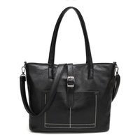 Wholesale cheap quality computers for sale - good quality Casual Women Tote Bags Black Soft Leather Handbags Cheap Women Bag For Women Crossbody Large Capacity Wholesa Hand Bag A885