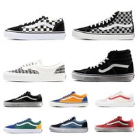 Wholesale vans shoes canvas online - Vans old skool sk8 fear of god hi men  women d01192a9575