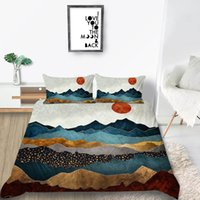 Wholesale abstract paintings black red for sale - Group buy Creative Series Bedding Set King Size Abstract Painted Duvet Cover Queen Artistic Twin Full Single Double Bed Cover with Pillowcase