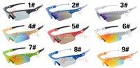 тонкие стекла оптовых-Летний новый МОДА menDazzle цвет drving солнцезащитные очки женские очки Велоспорт Спорт На Открытом Воздухе Солнцезащитные Очки Fine frame 6 цвет бесплатная доставка