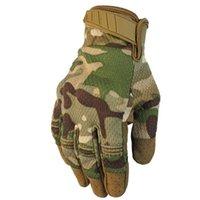neue taktische handschuhe großhandel-Ski Handschuhe Herbst und Winter neue Outdoor-Touchscreen Reiten Fitness Bergsteigen Anti-Rutsch Schießen volle Finger taktische Handschuhe
