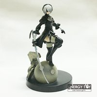 Wholesale cool toys girls resale online - Anime Yorha No Type B Nier Automata inch Pvc Action Figure Doll Model Toy Cool Girl