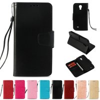 Wholesale s4 i9500 for sale - PU Wallet Case For Samsung Galaxy S4 Case Cover for Samsung i9500 Flip Cover Kickstand Phone Cases with Card Pocket