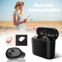 micro invisible bluetooth achat en gros de-Nouveau casque Bluetooth écouteurs Mini BL1 Stéréo Petit Simple Écouteur avec Micro chargeur zone Invisible Écouteur Casque vente chaude