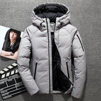 Wholesale knit coat pattern resale online - Hot top brand men The north outdoor gv Canada down jacket coat minus fur collar can remove casual hiking mountaineering face w