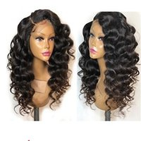 mèches noires bouclées achat en gros de-Kanekalon Cheveux Résistants À La Chaleur Kinky Curly Noir Souligner Or Femmes