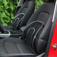 büro zurück stützkissen großhandel-Lendenrückenstütze Wirbelsäule Haltungskorrekturkissen Für Autositz Bürostuhl C
