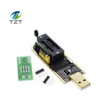 elektronisch 24 großhandel-10 stücke Intelligente Elektronik CH340 CH340G CH341 CH341A 24 25 EEPROM-Flash-BIOS-USB-Programmierer mit freeshipping Treiber