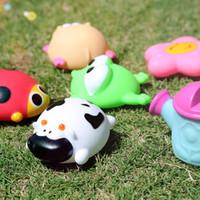 ingrosso vecchi giocattoli gonfiabili-Giocattoli da bagno per bambini Morbido anatra di gomma Animali Car Boat Bambini Giocattoli d'acqua Spremere a spruzzo Spiaggia Bagno Giocattoli per bambini