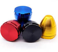 Wholesale roly poly for sale - Group buy Newest Aluminium Alloy Colorful Herb Spice Miller Egg Grinder Crusher Tumbler Roly poly Tobacco Cigarette Abrader Tools Styles