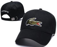 klasik spor stili toptan satış-Timsah Tarzı Klasik Spor Beyzbol Kapaklar Yüksek Kalite Golf Kapaklar Güneş Şapka Erkekler ve Kadınlar için tasarımcı Ayarlanabilir Snapback Kap En Iyi Baba Kap