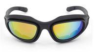 airsoft очки оптовых-Daisy C5 тактический C5 поликарбонат Буря в пустыне спортивные солнцезащитные очки 4 линзы очки Велоспорт езда защита глаз езда очки для страйкбола U