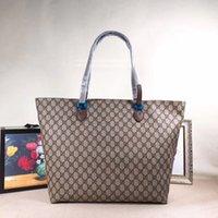 amerikanische klassische handtaschen großhandel-Einkaufstaschen 298, Handtaschen 2019 Europäische und amerikanische klassische Modestil, Männer und Frauen wählen Taschen, frachtfrei