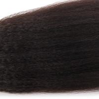 gerçek bakire insan saçları toptan satış-Kapalı Siyah Renk Perulu Bakire Düz Saç Weaving10-30 Inç Çift Atkı Saç Demeti Fırsatlar 100% Gerçek İnsan Saç Uzatma