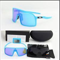 розовые солнцезащитные очки для мужчин оптовых-Полный пакет модные солнцезащитные очки Поляризованные Велоспорт Очки Мужчины Женщины Велосипед Розовый Велосипед Спорт 009406A 3 пары объектива на открытом воздухе Велоспорт Солнцезащитные очки