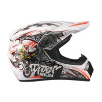 conjuntos de corrida unisex venda por atacado-OUTAD 3PCS / SET capacete da bicicleta respirável motocicleta capacete leve completa Rosto Corrida de Segurança da bicicleta Unisex ABS Shell Ciclismo