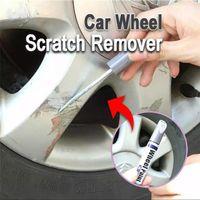 Wholesale pen wheels resale online - Car Wheel Scratch Remover Auto Filler Repair Cover Pen Waterproof Tire Paint Auto Practical Repair Tool High Quality Brand New l
