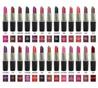 Wholesale ruby woo lipstick for sale - Group buy Matte lipstick VELVET TEDDY ANGEL RUBY WOO HONEY LOVE MYTH DIVA MOCHA DARE YOU Luster Retro Lipsticks Sexy Lipsticks Top Quality