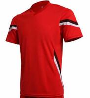 красивые белые рубашки оптовых-Easy order link футбол трикотаж 19 20 красно-желтая рубашка белый синий зеленый Мужчины Womean дети хорошее качество доставить очень быстро принять имя и номер