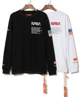 майк американец оптовых-свитер европейской и американской моды шею с длинными рукавами, мужские и женские рубашки пару печати письма куртка Майк Келли