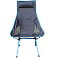 ingrosso carico di carico-All'ingrosso- Sedia da pesca portatile Sgabello da campeggio pieghevole sedia con sede per picnic barbecue grande carico leggero sedia pesantina
