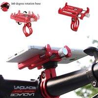 motorlu tezgahlar toptan satış-GUB Artı 8 Bisiklet Bisiklet motor dağı GPS Standı Tutucu Akıllı Cep Cep Telefonu Gidon Klip # 81168 Için Montaj Braketi Standı