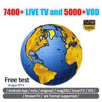 android tv ios großhandel-Neues Abonnement IPTV-Abonnement 40+ Länder Heißes Fußballspiel Live Kostenlos VOD Android Mag Box IOS Smart TV Frankreich Deutschland UK Reseller Panel