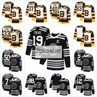 bruins winter jersey großhandel-Herren Lady Kids Chicago Blackhawks Boston Bruins 2019 Klassisches Eishockey-Eishockeytrikot Duncan Keith Toews Corey Crawford