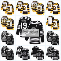 ingrosso boston bruins classici invernali-Mens Lady Kids Chicago Blackhawks Boston Bruins 2019 Maglia da hockey classica invernale Duncan Keith Toews Corey Crawford Patrick Kane Notre Dame
