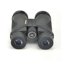 binóculos visionários venda por atacado-Visionking alta qualidade 10x42 Caça Binóculos Waterproof Telescópio Green and Black Binóculos Prismaticos De Caza Binóculos T191014