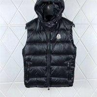 mens su geçirmez ceketler toptan satış-Erkek Tasarımcı Ceket Yelek Aşağı Coats Hoode Luminou Su geçirmez Womens Marka Dış Giyim WINDBREAKER Lüks Hoodie Ceket Kalın clothin -