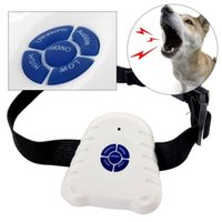 Wholesale dogs barking collar for sale - Group buy Collars Anti Dog Called Training Small Dogs Ultrasound Stop Barking Device Automatic Dog Training Dog Training Obedience