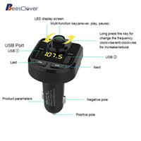 Wholesale mp3 player chip for sale - Group buy Adeeing Lighter Type Vehicle Bluetooth MP3 Player for U Disk AUX Double USB Charger built in MP3 WMA decoder chip r20 car
